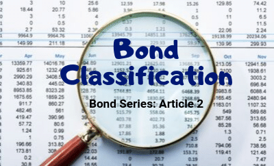 BOND SERIES: BOND CLASSIFICATION