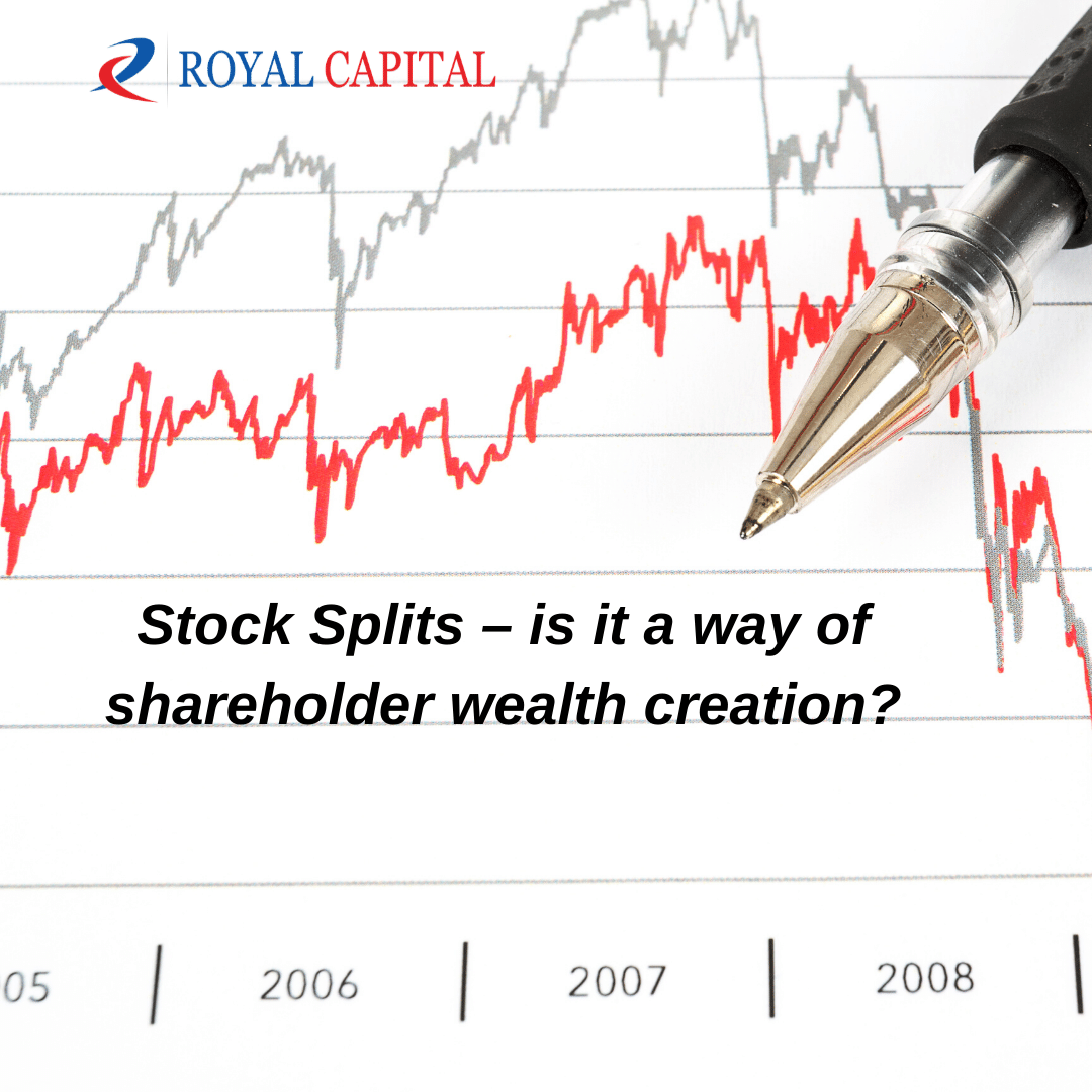 Stock Splits – is it a way of shareholder wealth creation?