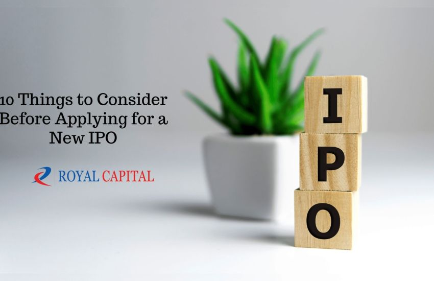 Applying for New IPO