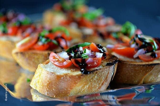 Bruschetta Recipe Add A Pinch