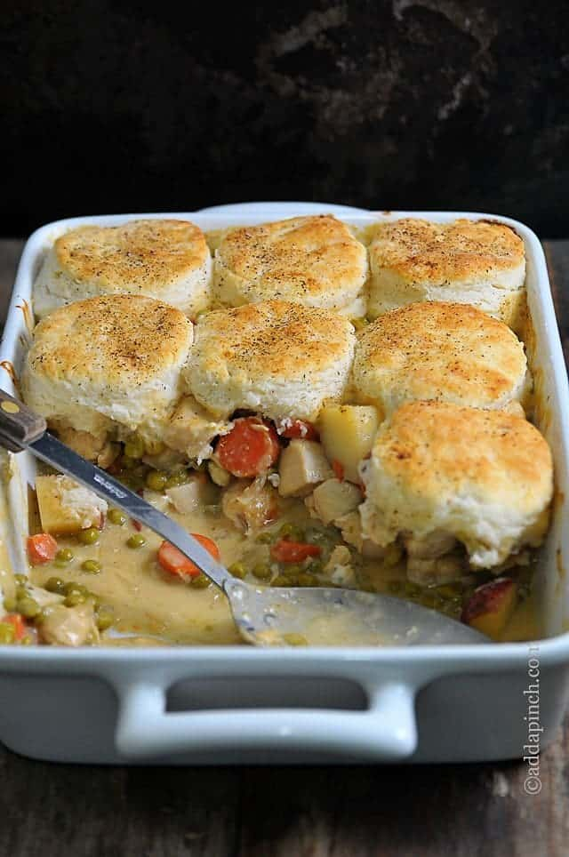 Chicken Pot Pie Using Canned Biscuits