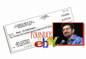 ebay創辦人Omidyar使用 Rainbow