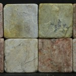 Sierra Gold Tumbled Pavers 4 x4 Lot 32207 IMG