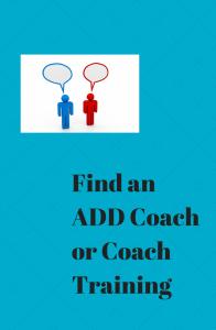 Find an ADD Coach