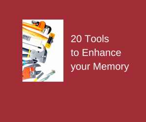 20 Tools to Enhance your Memory