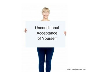 "What if we applied unconditional acceptance of who we are? What if we took a good look at ourselves, our body, our thoughts, our feelings, our actions, and said, ""You are perfectly OK. You are perfectly good""?"