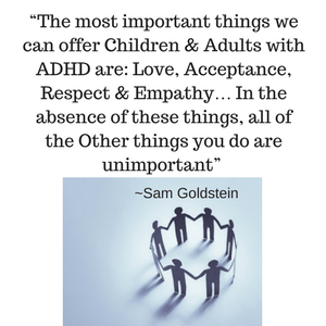 ADHD Newsletter - Love, Acceptance and Respect