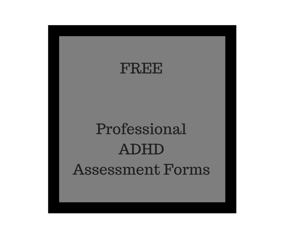 Free Essment Forms | Free Professional Adhd Assessment Forms Add Freesources