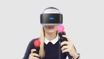 PlayStation VR Girl