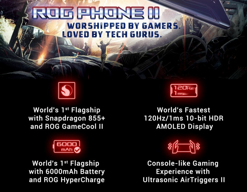 Great specs on Rog II by ASUS