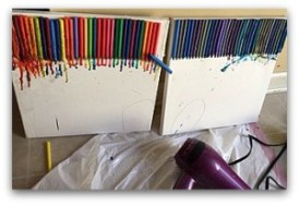 Melted Crayon Art 5