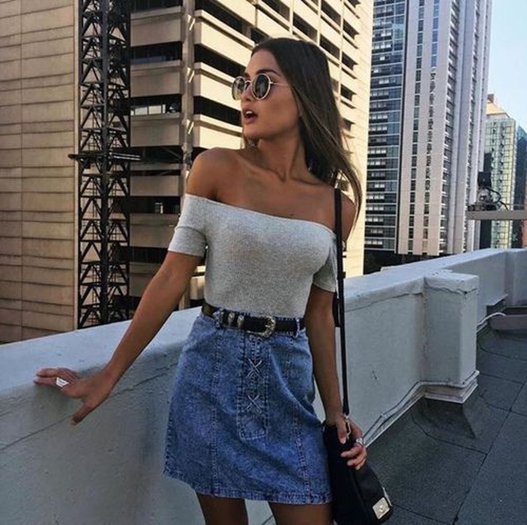 Affordable And Cheap Summer Outfits Ideas46