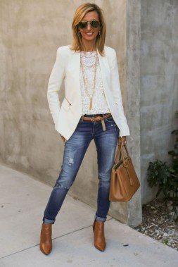 Amazing Fall Outfits Ideas With Blazer36
