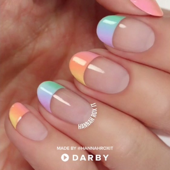 Best Ideas About Ombre Nails Art Design31