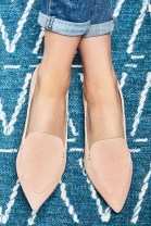 Classy Business Women Outfits Ideas With Flat Shoes17
