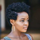 Cool Natural Hairstyles For African American Women16