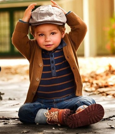 Cute Adorable Fall Outfits For Kids Ideas15