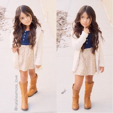 Cute Adorable Fall Outfits For Kids Ideas21