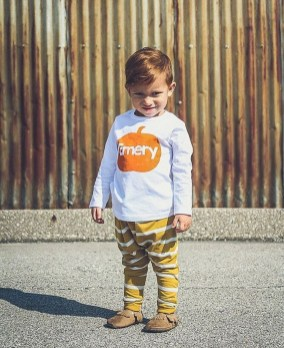 Cute Adorable Fall Outfits For Kids Ideas30