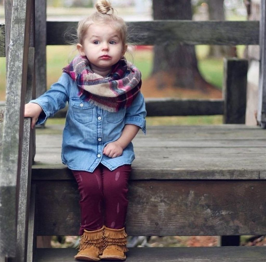 43 Cute Adorable Fall Outfits for Kids Ideas , ADDICFASHION