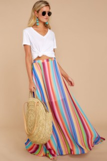 Cute Maxi Skirt Outfits To Impress Everybody36
