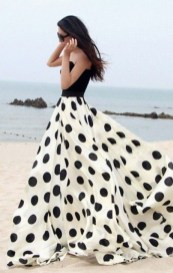 Cute Maxi Skirt Outfits To Impress Everybody41