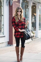 Cute Outfits Ideas With Leggings Suitable For Fall15