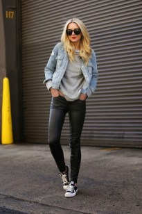 Cute Outfits Ideas With Leggings Suitable For Fall33