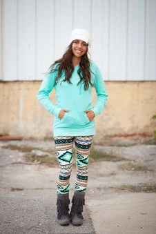 Cute Outfits Ideas With Leggings Suitable For Fall39