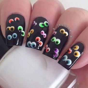 Eye Catching Fall Nails Art Design Inspirations Ideas08