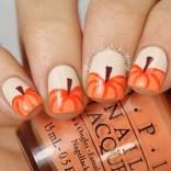 Eye Catching Fall Nails Art Design Inspirations Ideas15