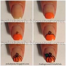 Eye Catching Fall Nails Art Design Inspirations Ideas20
