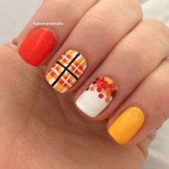 Eye Catching Fall Nails Art Design Inspirations Ideas30