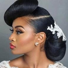 Gorgeous Wedding Hairstyles For Black Women25