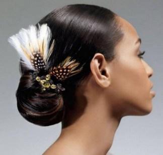 Gorgeous Wedding Hairstyles For Black Women35
