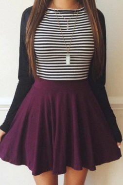 Modest But Classy Skirt Outfits Ideas Suitable For Fall16