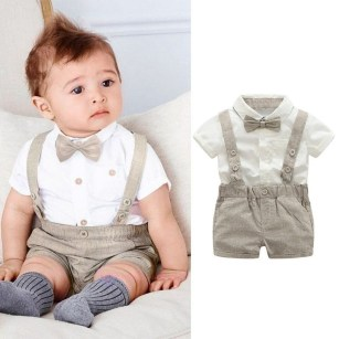 Most Popular Newborn Baby Boy Summer Outfits Ideas21