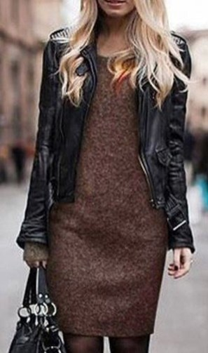 Stylish Work Dresses Inspirations Ideas To Wear This Fall39