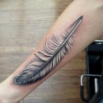Awesome Feather Tattoo Ideas07