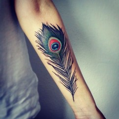 Awesome Feather Tattoo Ideas20