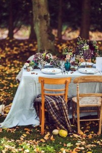 Awesome Outdoor Fall Wedding Tips Ideas23