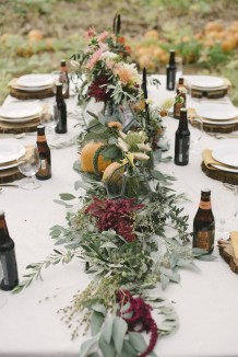 Awesome Outdoor Fall Wedding Tips Ideas24