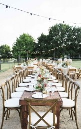 Awesome Outdoor Fall Wedding Tips Ideas28
