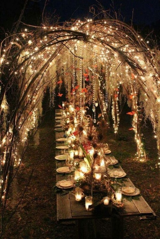 Awesome Outdoor Fall Wedding Tips Ideas41