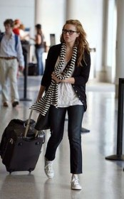 Classic And Casual Airport Outfit Ideas11