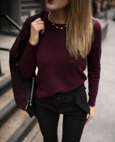 Cute Forward Fall Outfits Ideas To Update Your Wardrobe32