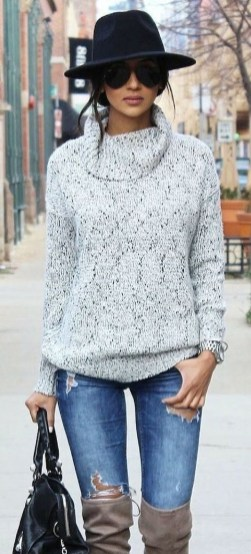 Cute Winter Outfits Ideas To Copy Right Now13