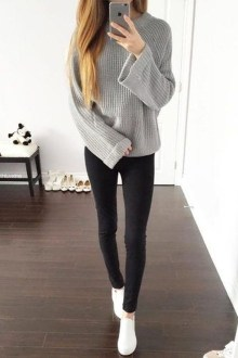 Fabulous And Fashionable School Outfit Ideas For College Girls14
