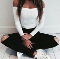 Fabulous And Fashionable School Outfit Ideas For College Girls17