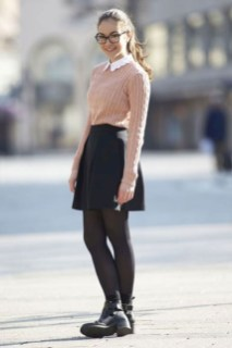 Fabulous And Fashionable School Outfit Ideas For College Girls32